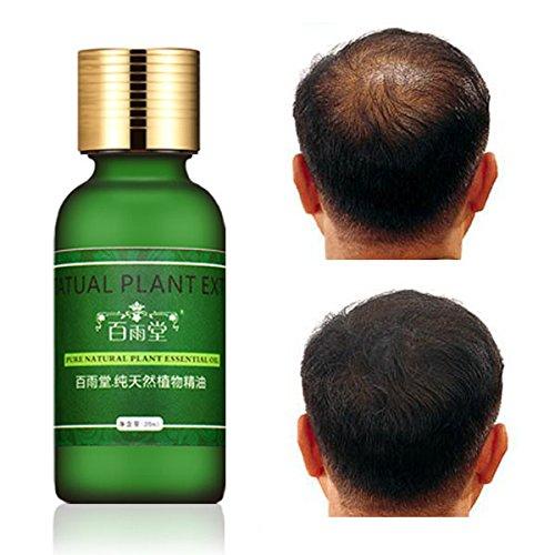 LM Extrait Naturel la croissance rapide Cheveux Essence Huile essentielle liquide ginseng Gingembre Herbal Pure