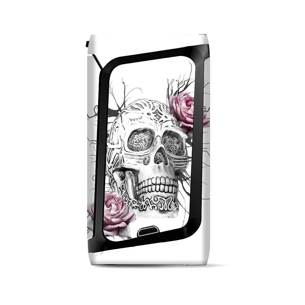 Skin Decal Vinyl Wrap for Smok Morph 219 Kit | Vape Stickers Skins Cover| Roses in Skull