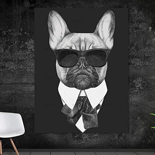 yaoxingfu Kein Rahmen Bild wandkunst Leinwand ng wohnkultur Wand Poster Dekoration für Wohnzimmer drucke Cartoon Tier ng Kunst kein Rahmen 30x45cm