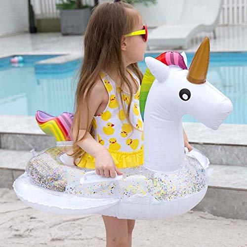 Kinderschwimmring Flamingo Einhorn kleines weißes Pferd Pfau Schwimmbad schwimmende Kugel...