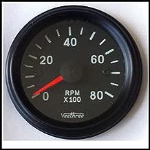 Veethree 37256 Tachometer 52mm Electronic 0 – 8000 (B/B)