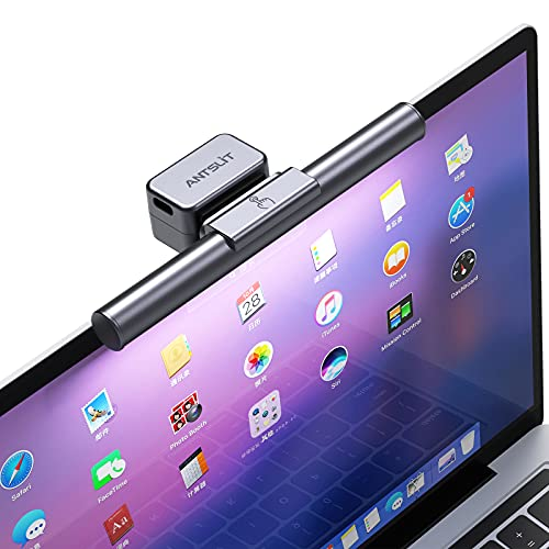 Antslit モニターライト モバイルPC用 モバイルコンピューター用 ノートパソコン専用 モニター掛け式 ライト クリップ式 電子読書 LEDライト デスクライト スクリーンライト テーブルランプ 学習机 卓上ライト