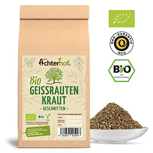 Geißrautentee BIO | 500g | 100% Geißrautenkraut ohne Zusätze | Geißraute Tee lose | vom Achterhof