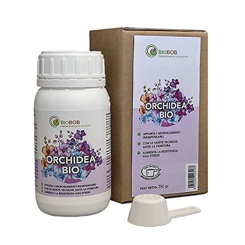 BIOBOB Concime Biologico per Orchidee, Fertilizzante liquido concentrato
