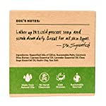 Alpine Sage Soap for Men – Revitalizing Natural Scent with Lavender, Cypress, Clary Sage Organic Oils – Bar Handmade in… 7
