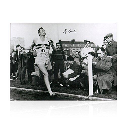 Roger Bannister Signed Photo: First Under 4 Minute Mile | Autographed Sport Memorabilia