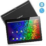 10,1 Zoll 3G Android Tablet, Android 8,1 Quad Core CPU, 64 GB (32GROM +32GTF, 2 GB RAM, IPS HD , entsperrter Telefonanruf Phablet PC mit Zwei SIM-Kartensteckplätzen, GPS, WLAN Tablet Pad