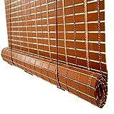 Cortina de bambú, Material de PVC, persianas enrollables,persianas Exteriores, decoración de partición, Transpirable, Impermeable, ecológico, el tamaño Puede ser Personalizado