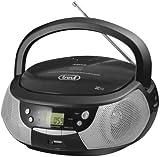 Trevi CMP532 Noir Radio CD - Radios CD (AM,FM, Lecteur, CD,CD-R,CD-RW, LED, Vert,...
