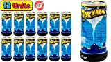 Tornado Maker Toy (Pack of 12) by Ja-Ru   Make Your Own Tornado Toy Game. Great Party Favor Toys. Party Supplies. Twister for Kids and Adults. Plus 1 Bouncy Ball. 5462-12p
