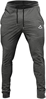 SAMZUEO Mens Joggers Sweatpants - Cotton Gym Joggers Training Workout Pants 107