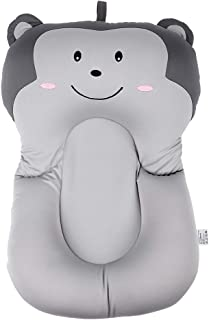 Bebé Cojín de Baño Bebé Recién Nacido Bebé Infantil Esponja Bebé Suave Almohadilla de Baño Bañera Bañera Cojín de Aire Flotante Almohada Estera(Gray)
