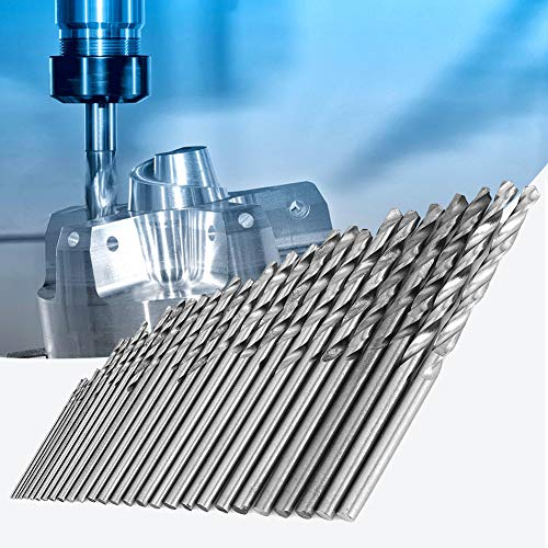 Mothers Day Gift Drill Bit Set, 16 Pcs 0.8-1.5mm Hss Straight Shank Electrical Tool Twist Drill Bits, for Most Drilling Jobs and Materials, Hss Steel Material, Incisive Twisted Drill Bits