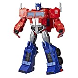Transformers Toys Optimus Prime Cyberverse Ultimate Class Action Figure - Repeatable Matrix Mega Shot Action Attack Move - Toys for Kids 6 & Up, 11.5'