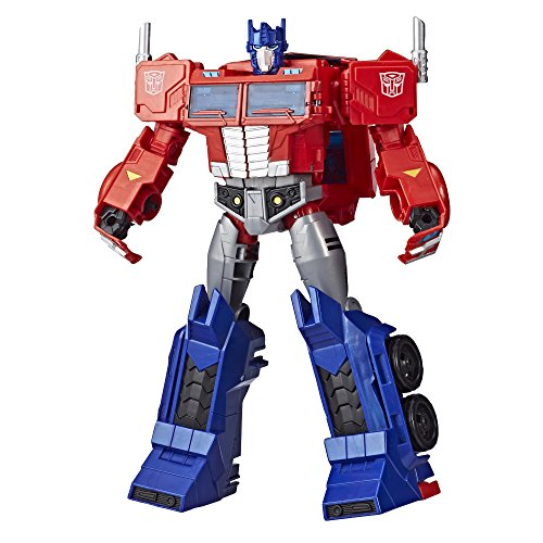 Transformers Toys Optimus Prime Cyberverse Ultimate Class Action Figure -...
