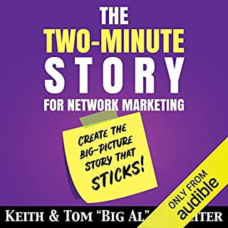 The Two-Minute Story for Network Marketing Titelbild