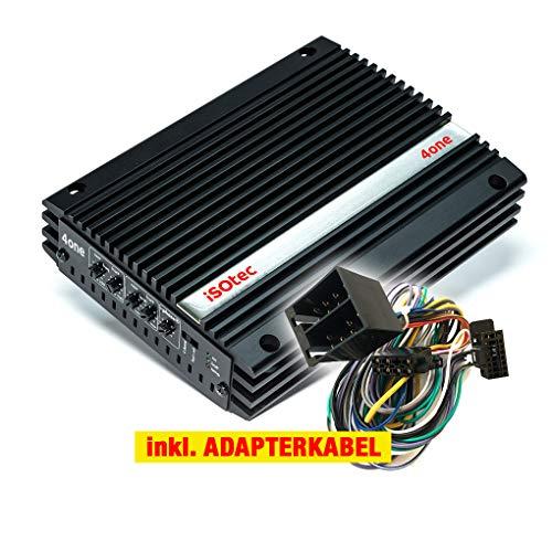 I-SOTEC ISO-4one Auto/KFZ Plug & Play Upgrade Verstärker/Endstufe kompatibel für Skoda