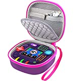 Comecase Case for Leapfrog Rockit Twist Handheld Learning Game System, Perfect Toy Box Storage for Kids Children -Purple