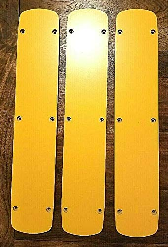 ZERO CLEARANCE INSERT PLATE (SET OF 3) FOR DEWALT SLIDING MITER SAW