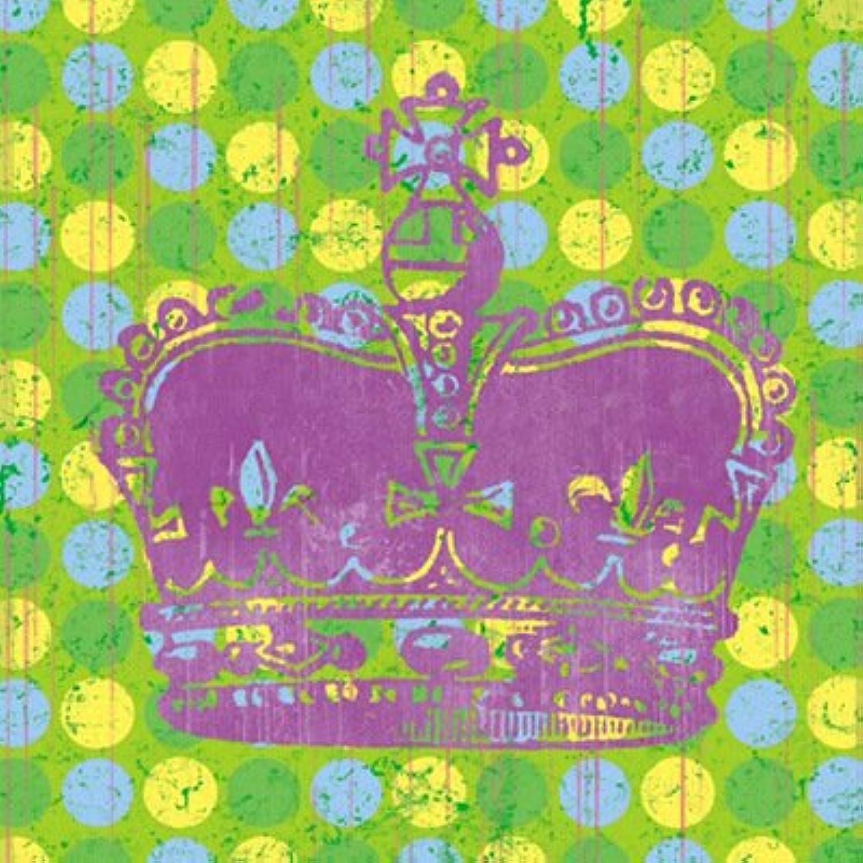 T&Q T&Qing Einzelne Krone Dekoration Malerei, rahmenlose Gemlde, Wohnzimmer Gang dekorative Malerei, 25  25cm B07KN2NG6S | Eine Große Vielfalt An Modelle 2019 Neue
