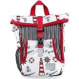 MIXIRL® 4-5 Liter Kindergartenrucksack für Jungen & Mädchen | 1-3 Jahre | hochwertiger Kinderrucksack mit Brustgurt für einen gesunden ideal für Wanderungen, Kita & Kindergarten