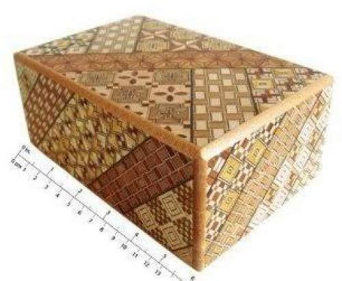 Yosegi Puzzle Box 5sol, 10pasos