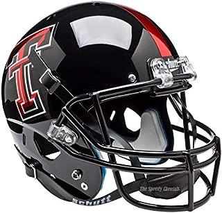Texas Tech Red Raiders Chrome Logo Officially Licensed Full Size XP Replica Football Helmet