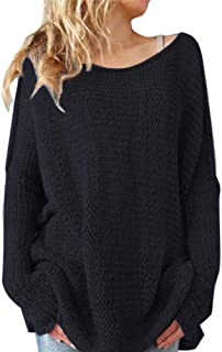 ZiXing Ladies O Neck Long Sleeve Knitted Plain Jumper Women Sweater Pullover with Thumb Hole On Sleeve