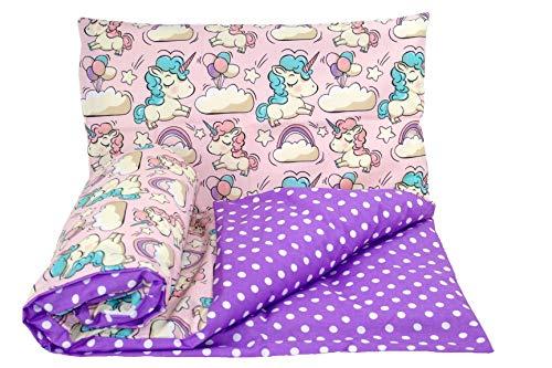 Baby's Comfort omkeerbare 2 stks baby beddengoed set dekbedovertrek/dekbedovertrek + kussensloop (70x80cm voor ribben/kinderwagen/Moses manden, 28)