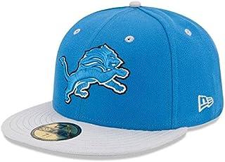 New Era New Era Detroit Lions 2Tone 59FIFTY Fitted Hat - Blue スポーツ用品 【並行輸入品】