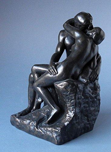 Le Baiser - Der Kuss -M- AUGUSTE RODIN Skulptur Parastone Museumsedition RO12