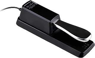 Pedal de Sostenido Pedal de Resonancia para Teclados y Pianos Digitales Yamaha, Casio, Roland, Korg, M-Audio y Fairdeal
