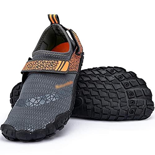 Los Zapatos De Vadeo para Hombres Son Resistentes A Los Cortes Y De Secado Rápido, Zapatos Anfibios Al Aire Libre De Las Mujeres, Botas De Buceo Antideslizantes para Natación