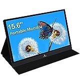 2021 [Upgraded] Portable Monitor - NexiGo 15.6 Inch Full HD 1080P IPS USB Type-C Computer Display,...