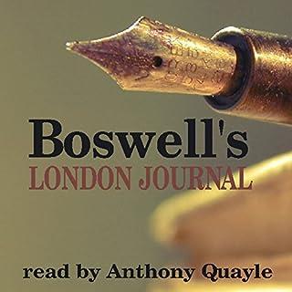 Boswell's London Journal audiobook cover art