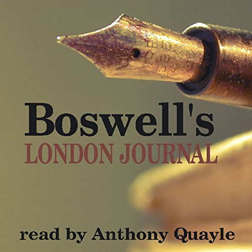 Boswell's London Journal audiobook cover art
