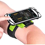 Newppon 180° Rotating Armband with Waterproof Bag & for