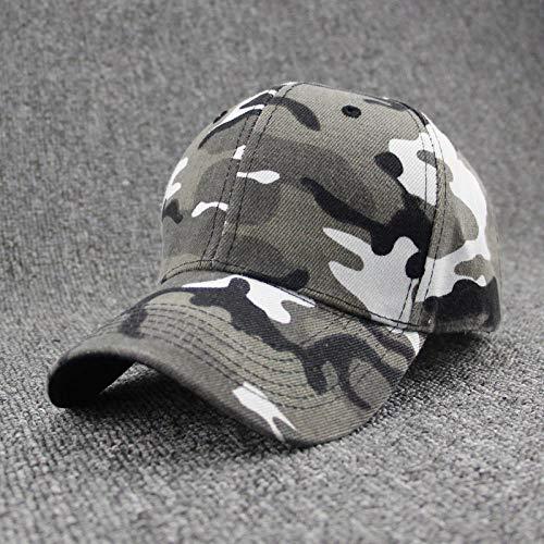 Casquette de baseball militaire camouflage pour homme Casquette tactique Camouflage Casquette Snapback Chapeau pour homme Bone Masculino Dad Hat Trucker Desert, Camouflage blanc.