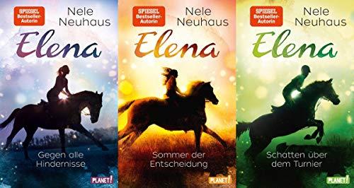 Elena - Ein Leben für Pferde in 3 Bänden + 1 exklusives Postkartenset (Jugend)