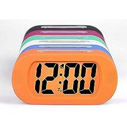 Ieasycan LED Alarm Clock,despertador Temperature Sounds Control LED display,electronic desktop Digital table clocks For Student Gift