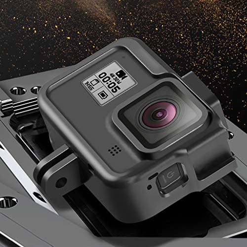 MeterMall Sport Camera Metalen Cover Frame voor Gopro Hero 8 Zwart Actie Camera Case Aluminium Behuizing Shell