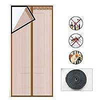磁気スクリーンドアのカーテン、夏の抗蚊の昆虫のフライバグの磁気正味自動閉じるドアの画面,1,85*205cm