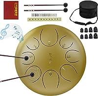 WGW耐腐食性スチールタンドラム、タンバリン8インチ10インチパーカッションスチールドラム楽器