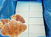 【冷凍生地】【業務用】タイ焼用クロワッサン生地(15cm×8cm×2.2)360枚入り、