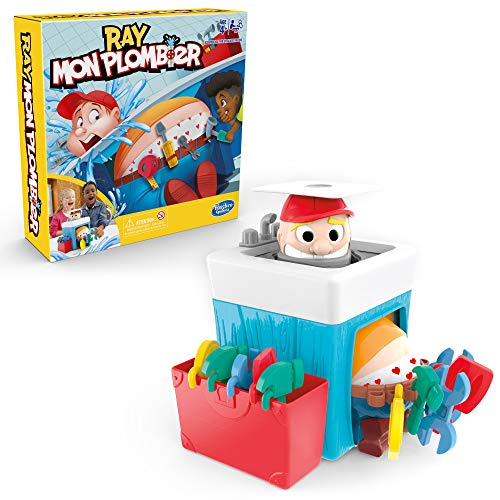 Ray, Mon Plombier - Jeu de societe pour enfants - Jeu fun - Version française