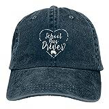 Jopath El conductor del autobús escolar presenta el sombrero clásico de béisbol gorra hombres mujeres lavable ajustable llano sombrero negro