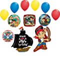 Jake and the Neverland Pirates Birthday Party Supplies Balloon Bouquet Decorations