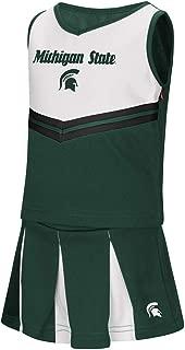 Colosseum Toddler Michigan State Spartans Girls Green Pom Pom Cheer Set