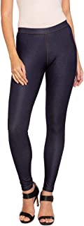 GO COLORS Women's Pants (LJ02-BLUE JEG86-XL_Blue Jegging_X-Large)