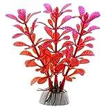 1 pieza de 5 a 12 cm de hierba de acuario decoración de agua de malezas ornamento de plástico para plantas de pecera, acuario, accesorios de decoración